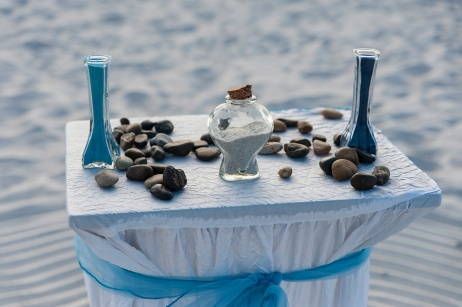 The Beach Sand Ceremony