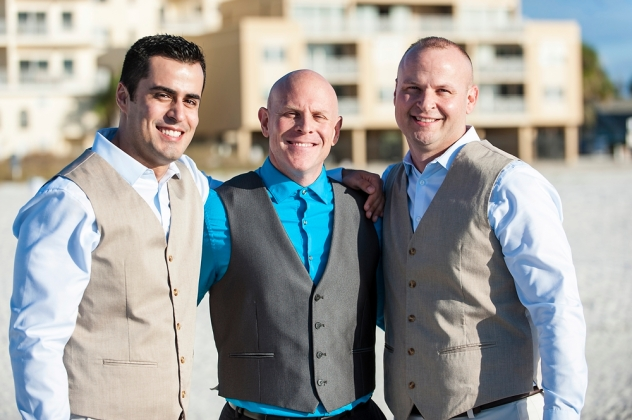 Congratulation Alan and Phillip. Wedding was performed at Sommerset St. Clearwater Beach along with Gulf Beach Weddings.