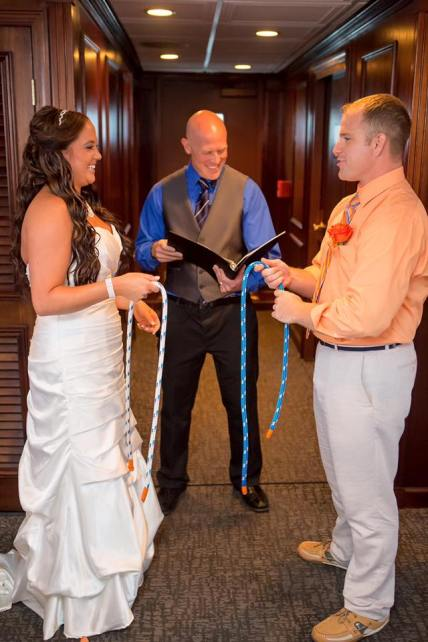 The Nautical Knot Tying Ceremony