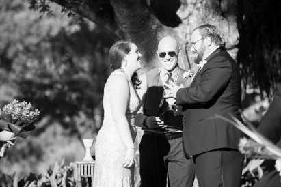 Congratulations Mike and Corey. Wedding was performed at the Sarasota Garden Club
