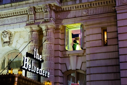 The famous must have picture at the Belvedere, Baltimore,MD.