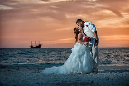 Congratulations Shawna and Arthur. Wedding Performed at Avalon St. Clearwater Beach along with Gulf Beach Weddings