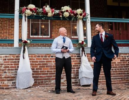 Always a wonderful wedding at the Cl Space in Ybor.