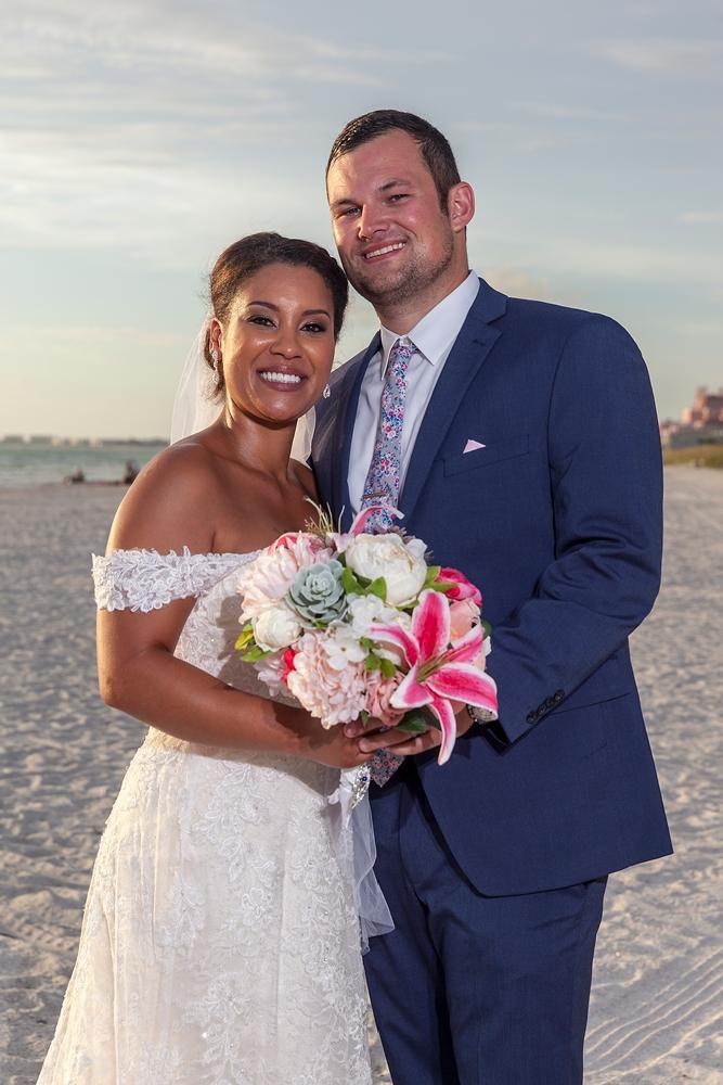 Beautiful Beach, Florida Sun, and a fantastic couple...Clearwater Beach.