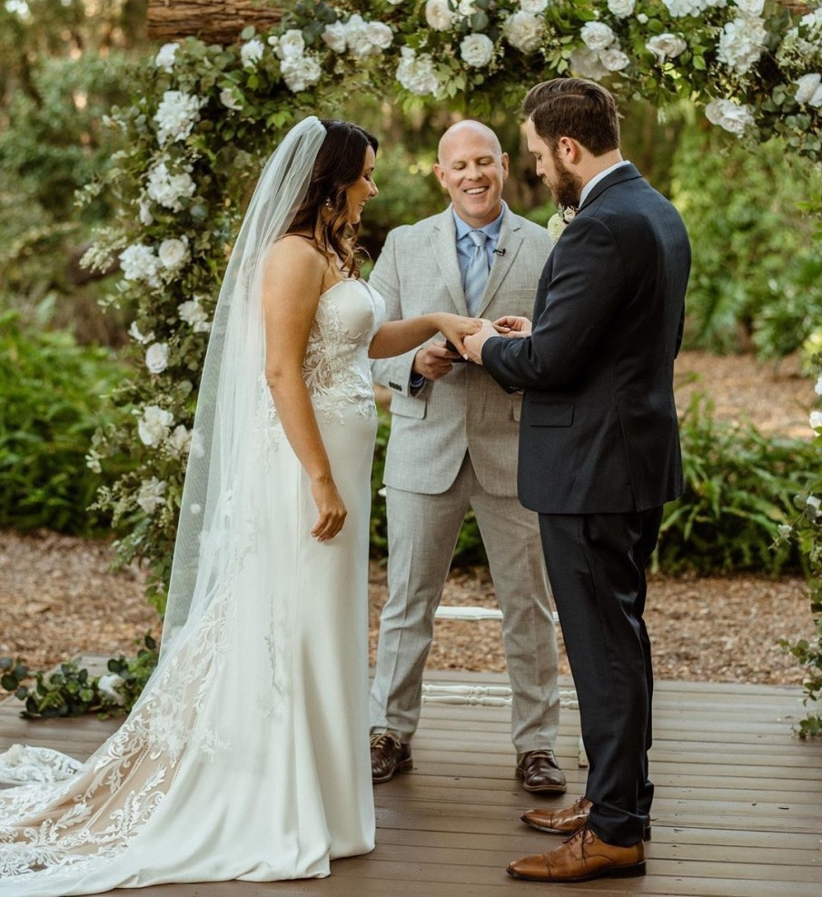 Another beautiful wedding at the KC Ranch with Aston Brooke Photography.